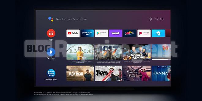 راهنمای گامبهگام راهاندازی اندروید تی وی (Android TV)